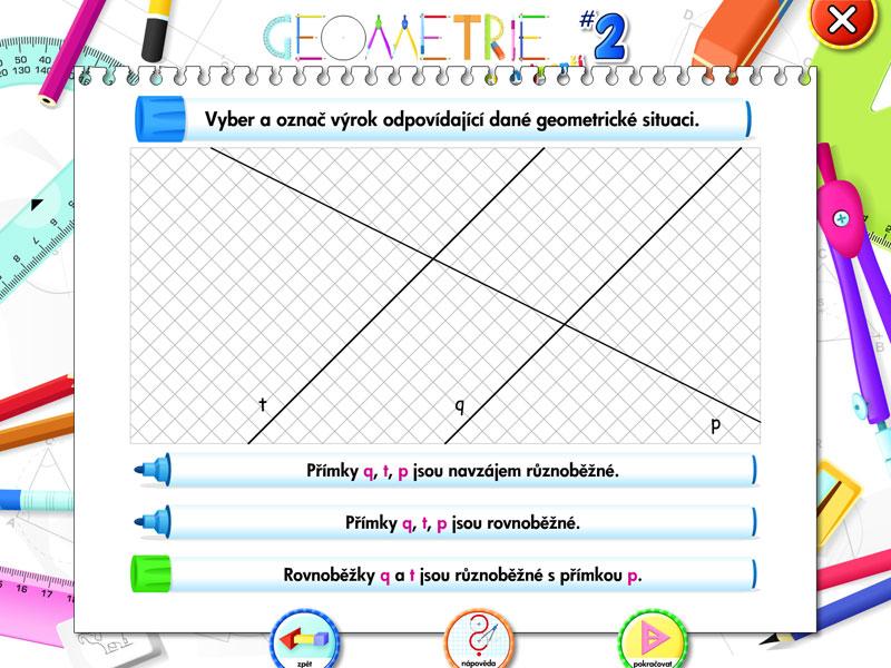 Geometrie pro nejmenší 2 | 1
