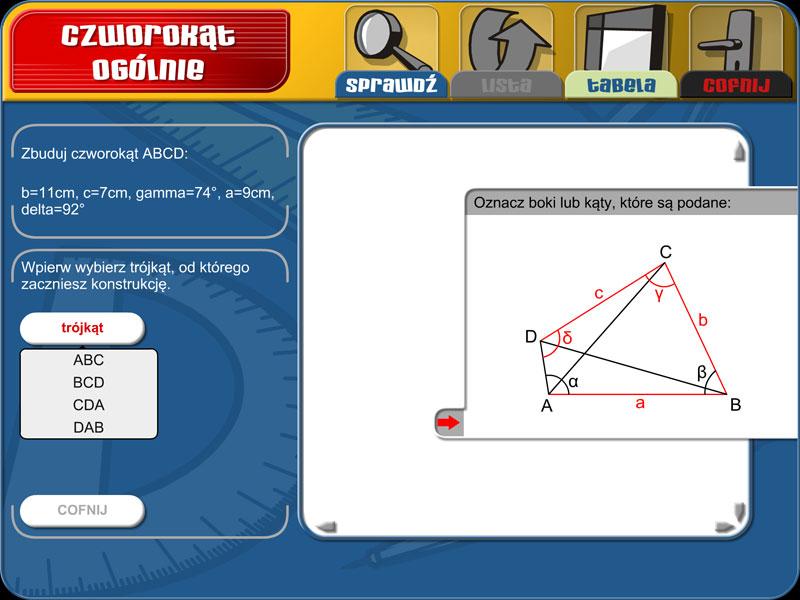 Geometria 1 - Zadania konstrukcyjne | 1