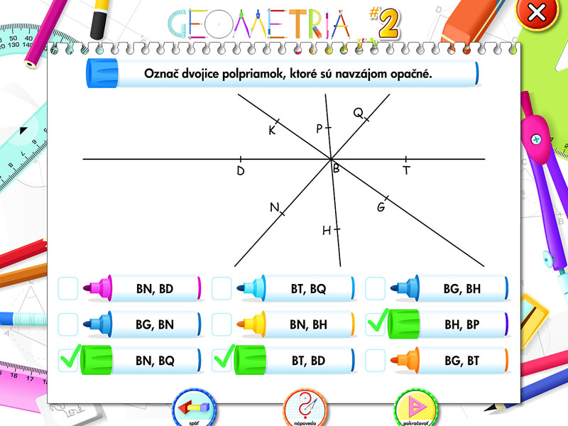 Geometria pre najmenších 2 | 1