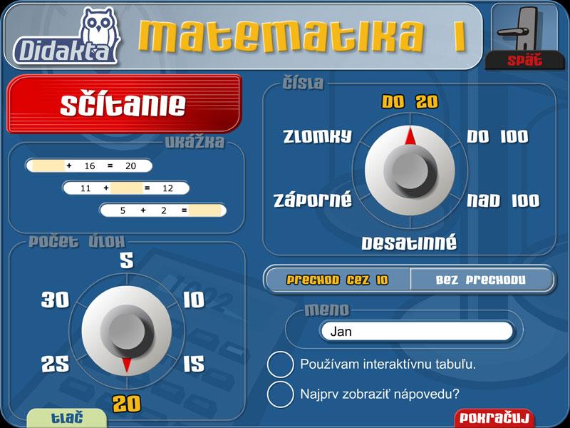 Matematika | 1