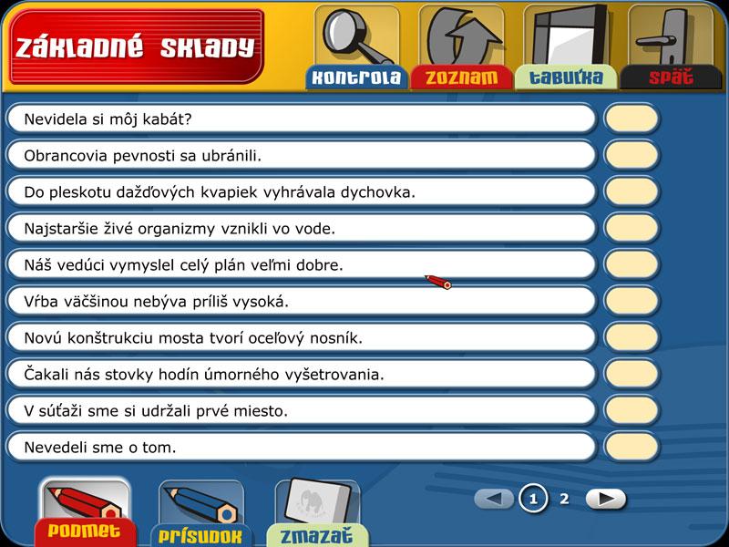 Slovenský jazyk 1   1