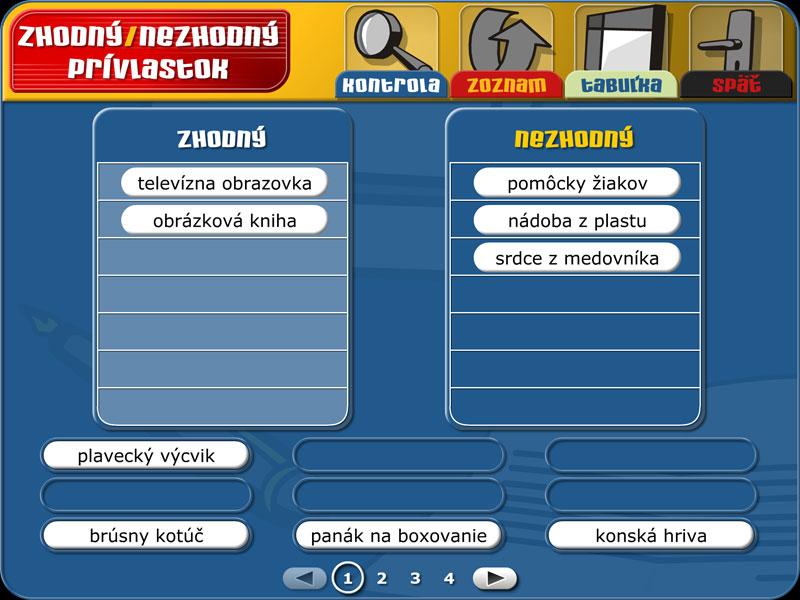 Slovenský jazyk 1 | 1