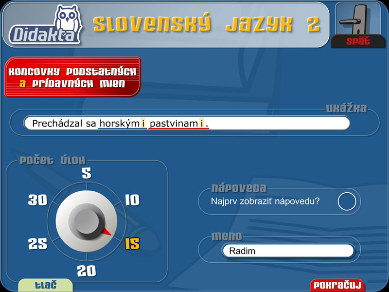 Slovenský jazyk 2 | 1
