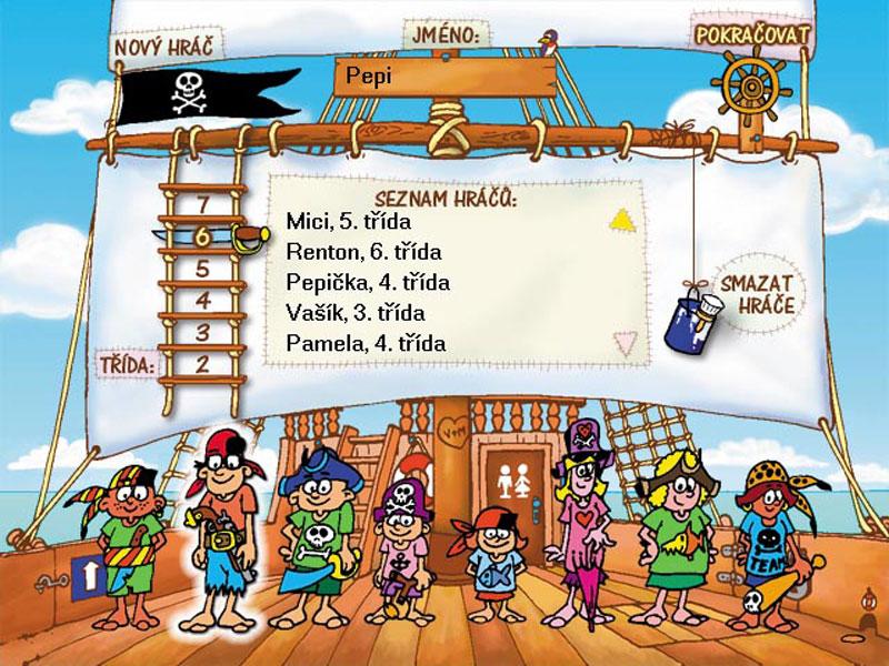 Diktáty s piráty